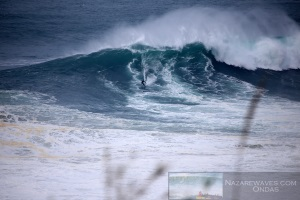 Big wave surf session with Redbull Brazil team