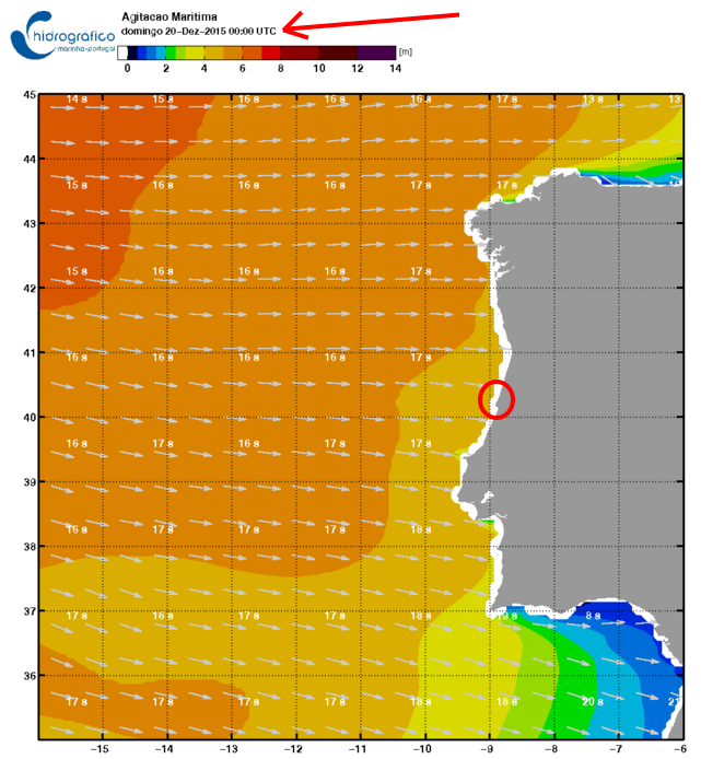 Giant waves alert - 19 to 21 December at Nazaré!
