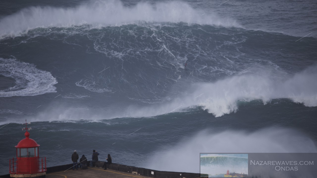 Nazar Enters The New Year With Giant Waves NEWS