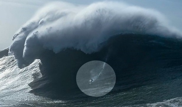 Nature Surprises With Unique Giant Waves News Nazare Big