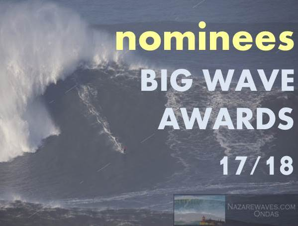 Big Wave Awards Nominees 17/18
