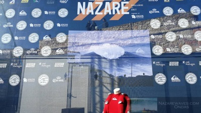 1º dia Nazaré Challenge - Big Wave Tour