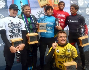 Lucas Chianca wins the Nazare Challenge