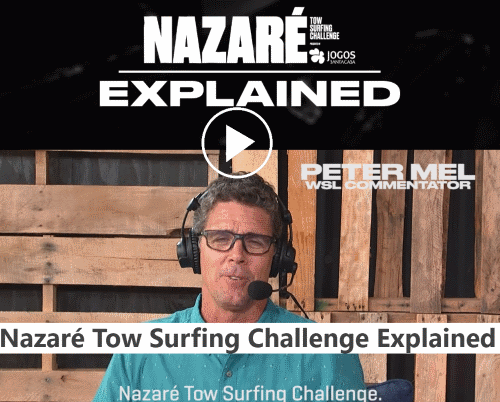 WSL Nazare Challenge explicado