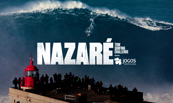 Nazaré Tow Surfing Challenge with confirmed date