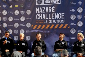 Important day to the World Surf Championship in Nazaré